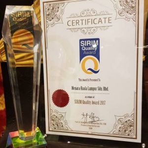 SIRIM Quality Award 2017